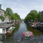 View on Da Costakade from Van Lennepstraat